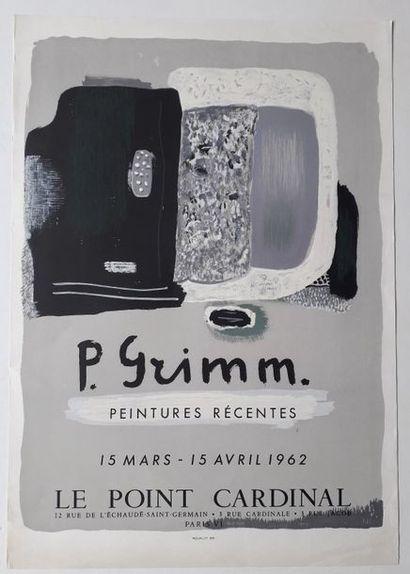 P. Grimm peinture récentes, Le Point Cardinal,...