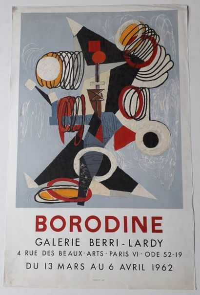 Borodine, Galerie Berri-Lardy, Paris, 1962;...