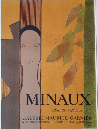 Minaux, Fusains -Pastels, Galerie Maurice...