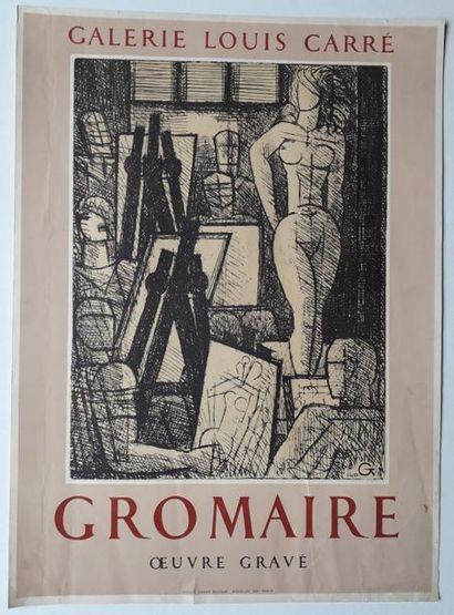Gromaire, œuvre gravé, Galerie Louis Carré,...