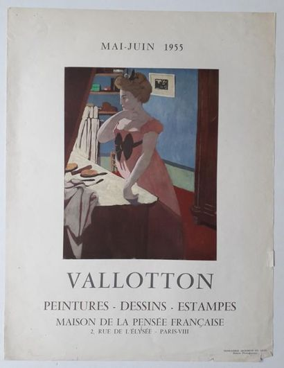 Valloton: Peintures - dessins – estampes,...