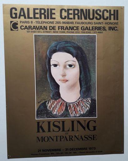 Kisling et Montparnasse, Galerie Cernuschi,...