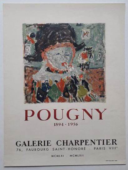 Pougny 1894-1956, Galerie Charpentier, Paris,...