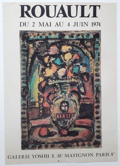 Rouault, Galerie Yoshii, Paris, 1974; Imprimerie...