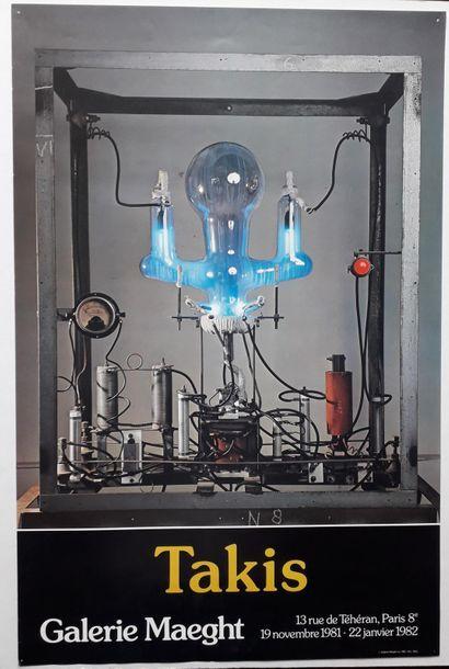 Takis, Galerie Maeght, Paris, 1981; Galerie...