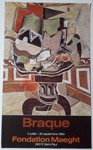 Braque, Fondation Maeght, Saint-Paul, 1980;...