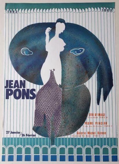 Jean Pons, Lieu d'image/ Plume pinceau /Galerie...