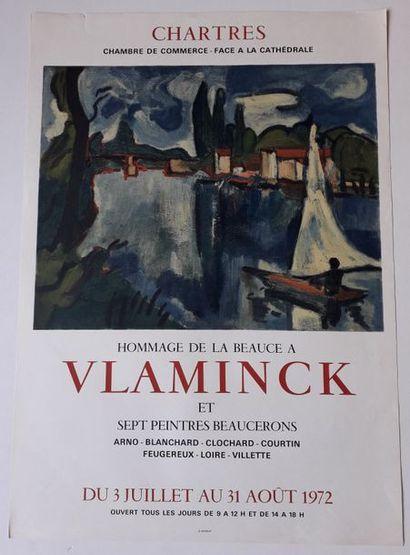 Hommage de la Beauce à Vlaminck et sept peintres...