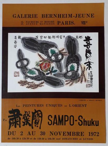 Les peintures uniques de l'Orient par Sampo-Shuku,...