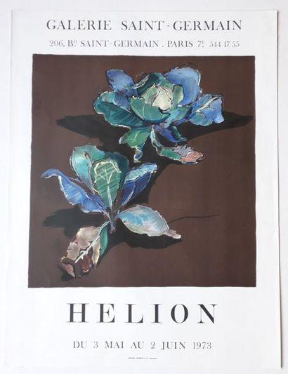 Hélion, Galerie Saint-Germain, Paris, 1973;...