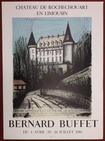 Bernard Buffet, Château de Rochechouart en...