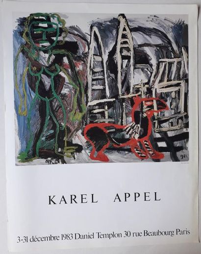 Karel Appel, Galerie Daniel Templon, Paris,...