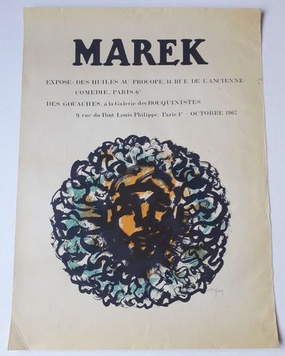 Marek, Le Procope, Galerie des Bouquinistes,...