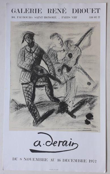 A. Derain, Galerie René Drouet, Paris, 1972;...