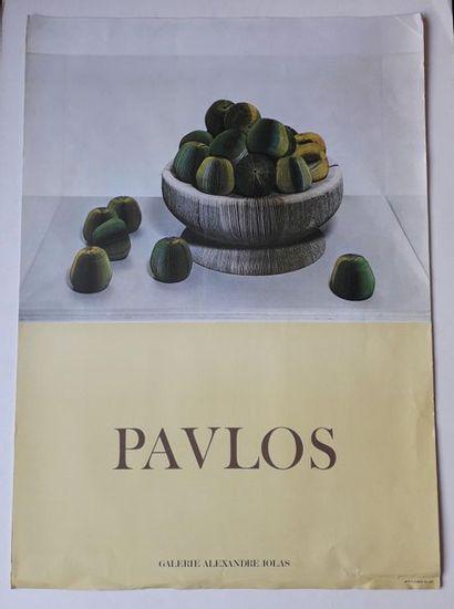 Pavlos, Galerie Alexandre Iolas, sans date;...