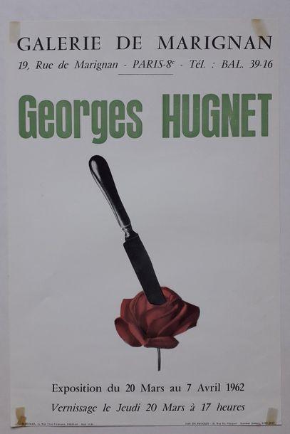 Georges Hugnet, Galerie de Marignan, Paris,...