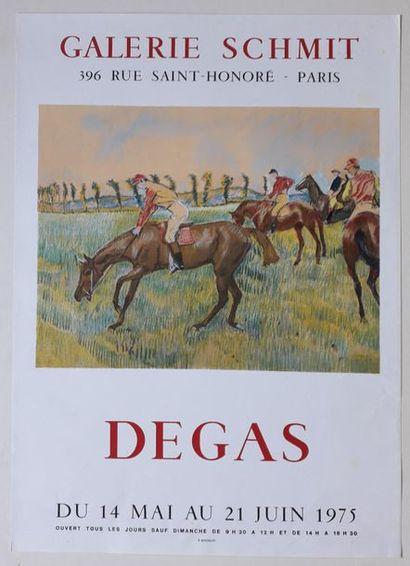 Degas, Galerie Schmit, Paris, 1975; Imprimerie...
