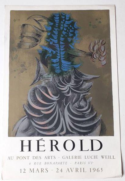 Herold, Galerie Lucie Weill, 1965; Imprimerie...