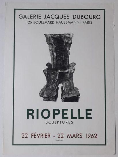 Riopelle, Galerie Jacques Dubourg, Paris...