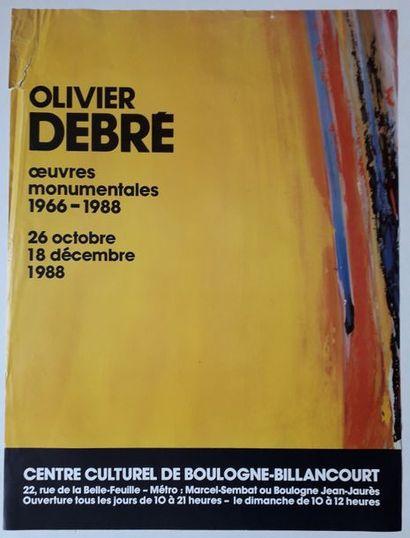 Olivier Debré: Œuvres monumentales 1966-1988,...