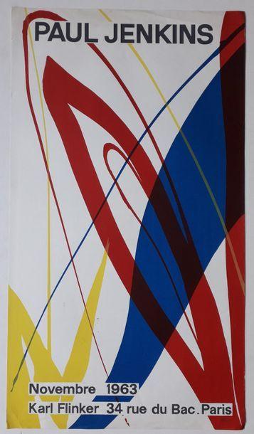 Paul Jenkins, Galerie Karl Flinker, Paris,...