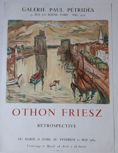 Othon Friesz rétrospective, Galerie Paul...