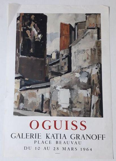 Oguiss, Galerie Katia Granoff, Paris, 1964;...