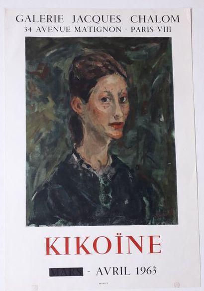 Kikoïne, Galerie Jacques Chalom, Paris, 1963;...