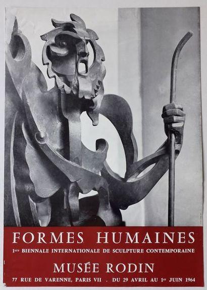 Formes humaines: 1 ière biennale internationale...
