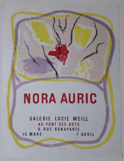 Nora Auric, Galerie Lucie Weill, Paris, 1962;...