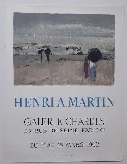 Henri-A Martin, Galerie Chardin, Paris, 1962;...