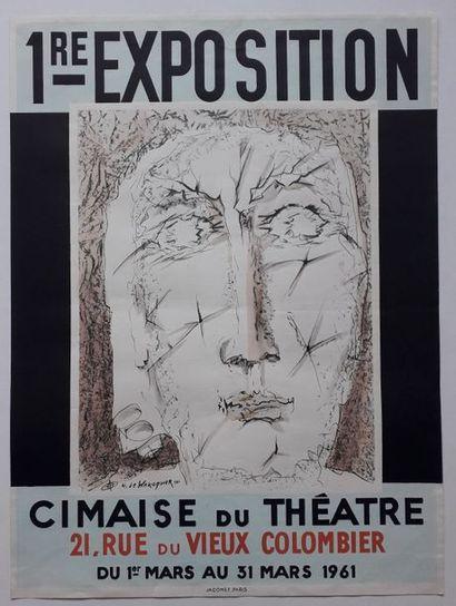 1 ère exposition, Cimaise du Théâtre, Paris,...
