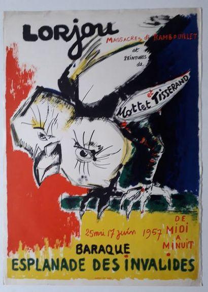 Massacre à Rambouillet: Lorjou et peinture...