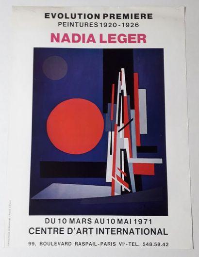 Nadia Leger: Evolution première, peintures...