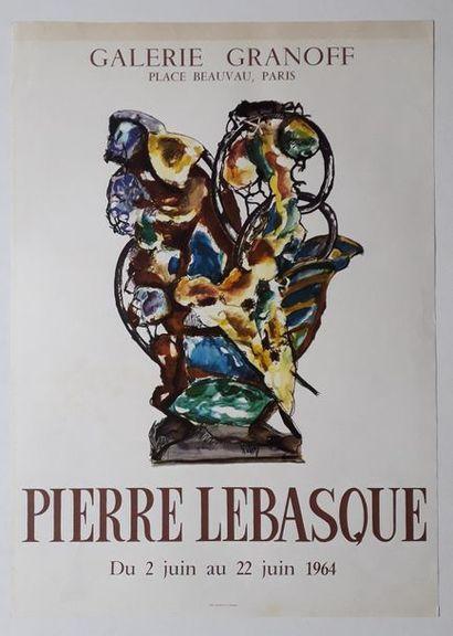 Pierre Lebasque, Galerie Granoff, Paris,...