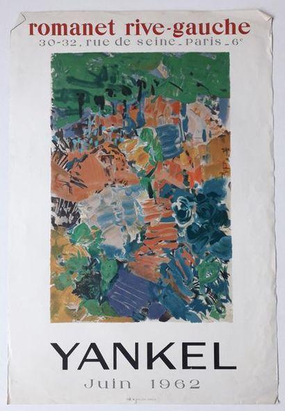 Yankel , Galerie Romanet rives-gauche Paris,...