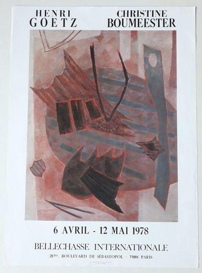 Henri Goetz, Christine Boumeester, Galerie...