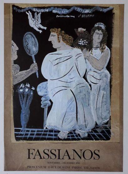 Fassianos, Galerie Proscenium Paris, 1980,...