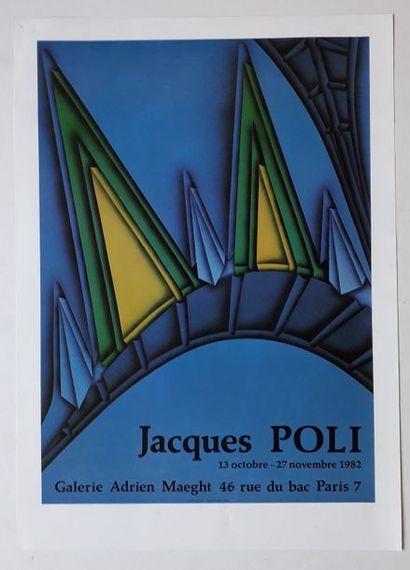 Jacques Poli, Galerie Adrian Maeght, Paris,...