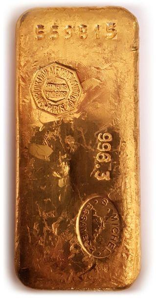 1 lingot d'or numéro 559815 - Bulletin du...
