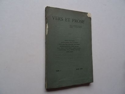 «Vers et prose» [revue tome I], Œuvre collective...
