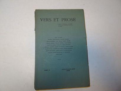 «Vers et prose» [revue tome II], Œuvre...