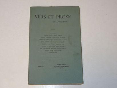 «Vers et prose» [revue tome III], Œuvre...
