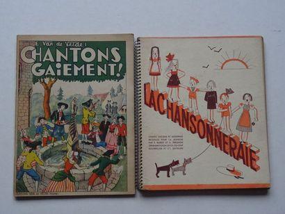Lot de 2 ouvrages:  - «La Chansonneraie»,...