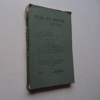 «Vers et prose» [revue tome VII], Œuvre...