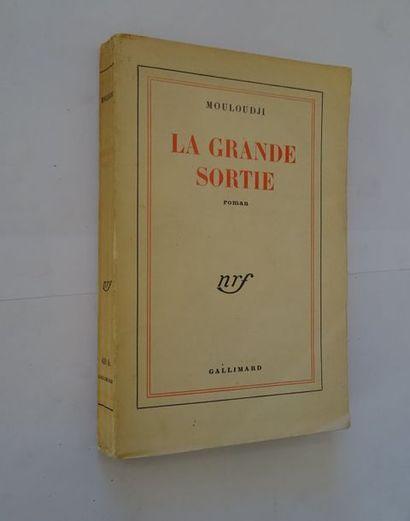 «La grande sortie», Mouloudji; Ed. Gallimard,...