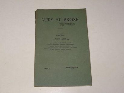«Vers et prose» [revue tome IX], Œuvre...