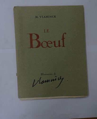 «Le Bœuf», M. Vlaminck; Ed. Corréa, 1944,...