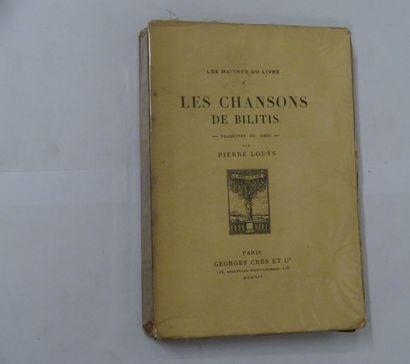 «Les chansons de Bilitis», Bilitis, Pierre...