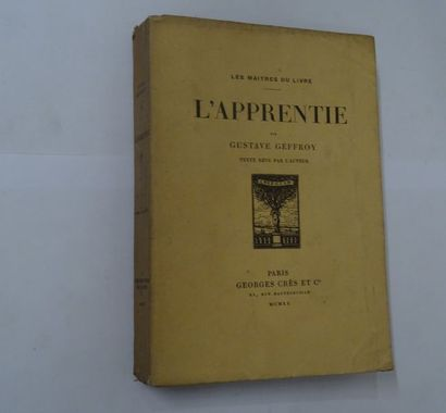 «L'apprentie», Gustave Geffroy; Ed. Georges...